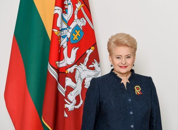 Prezidentė D. Grybauskaitė sveikina Lietuvos žmones su Vasario 16-ąja