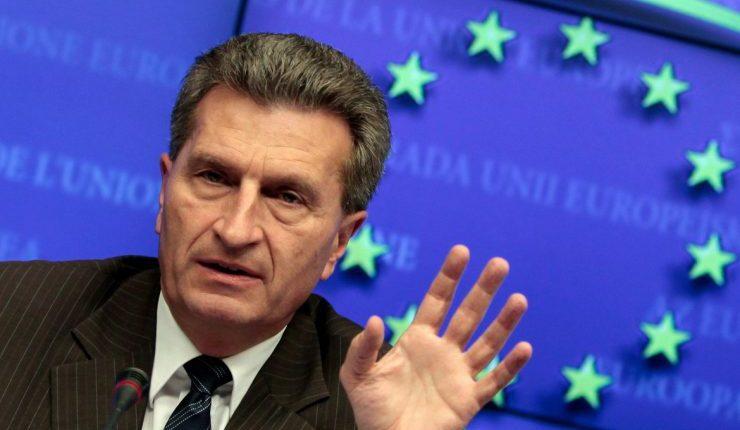 """Europos komisaras įvardino, kiek Vokietijai gali tekti mokėti po """"Brexit"""""""