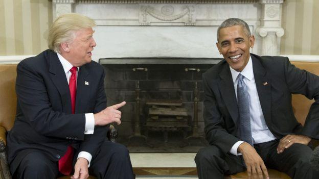 D. Trampas: B. Obama vykdė pernelyg švelnią politiką Rusijos atžvilgiu