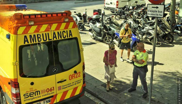 Ispanija: tėvas su vienų metų dukrele ant rankų iššoko pro ligoninės langą