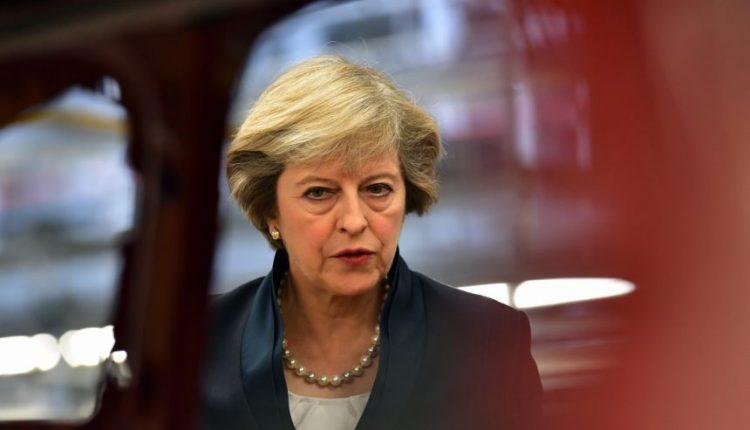 """T. Mei: savo """"Brexit"""" strategiją JK paskelbs ketvirtadienį"""