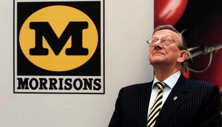 """Mirė """"Morrisons"""" vadovas seras K. Morisonas"""