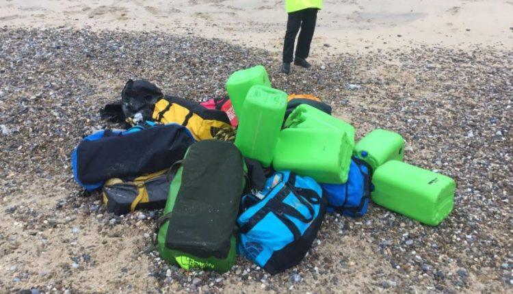 Dviejuose Anglijos paplūdimiuose rasta 360 kg kokaino