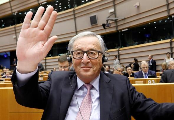 """ES vadovas Junckeris atskleidžia Europos Sąjungos po """"Brexit"""" scenarijus ( papildytas pranešimas )"""