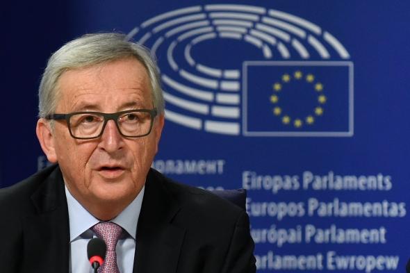 """Junckerio penki galimi ES """"ateities keliai"""""""