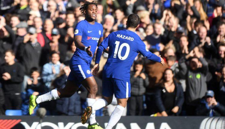"""""""Chelsea"""" laimėjo svarbų mūšį dėl vietos pirmajame """"Premier"""" lygos ketverte"""