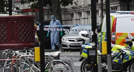 Londone paleistas į pėsčiuosius įsirėžusio automobilio vairuotojas