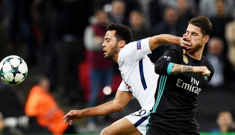 """""""Real"""" futbolininkai patyrė nesėkmę Londone, """"Tottenham Hotspur"""" ir """"Manchester City"""" užsitikrino vietas aštuntfinalyje"""