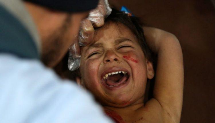 Sukilėlius atakuojančios B. al Assado pajėgos pražudė mažiausiai 100 civilių