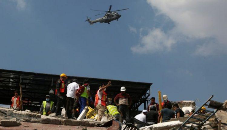 Meksiką supurtęs stiprus žemės drebėjimas didelės žalos nepadarė, tačiau sukėlė paniką