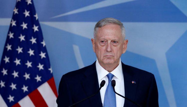 JAV susirūpinusios, kad Sirijoje galėjo būti panaudotos zarino dujos, sako J. Mattisas