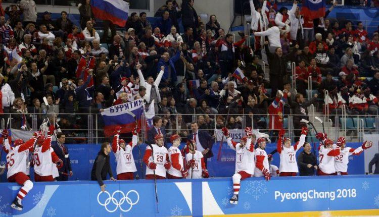 Rusai į Pjongčangą vežė organizuotas sirgalių grupes, kurioms mokėjo pinigus