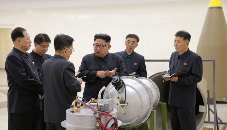 Šiaurės Korėja nori taikytis, sako D. Trumpas